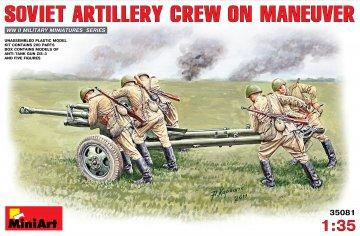 Sowjetische Artillerie-Besatzung · MA 35081 ·  Mini Art · 1:35
