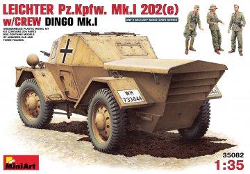 Leichter PzKpfWg Mk. I 202 ( e) with Crew Dingo Mk. I · MA 35082 ·  Mini Art · 1:35