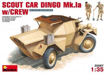Spähwagen Dingo Mk 1a mit Crew · MA 35087 ·  Mini Art · 1:35