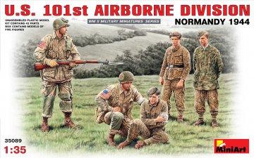 U.S. 101st Airborne Division(Normandy 44 · MA 35089 ·  Mini Art · 1:35