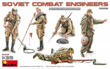 Soviet Combat Engineers · MA 35091 ·  Mini Art · 1:35