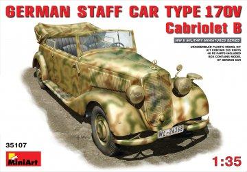 Deutscher Stabswagen Typ 170V.Cabrio B · MA 35107 ·  Mini Art · 1:35