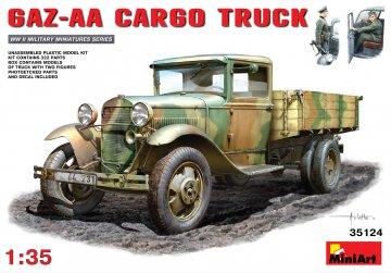 GAZ-AA Cargo Truck · MA 35124 ·  Mini Art · 1:35
