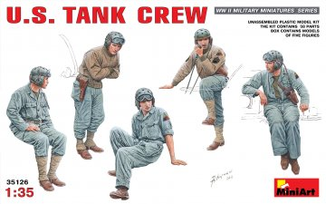 U.S. Panzer Crew · MA 35126 ·  Mini Art · 1:35
