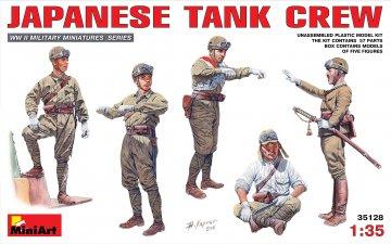 Japanische Tank Crew · MA 35128 ·  Mini Art · 1:35