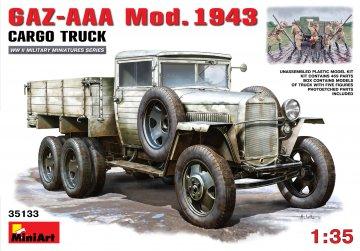 GAZ-AAA. Mod. 1943. Cargo Truck · MA 35133 ·  Mini Art · 1:35