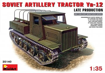 Ya-12 Late Prod. Soviet Artil. Tractor · MA 35140 ·  Mini Art · 1:35