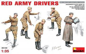 Red Army Drivers · MA 35144 ·  Mini Art · 1:35