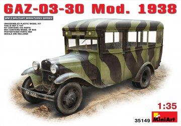 GAZ-03-30 Mod.1938 · MA 35149 ·  Mini Art · 1:35