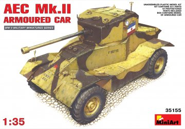 AEC Mk 2 Armoured Car · MA 35155 ·  Mini Art · 1:35