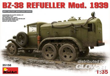 BZ-38 Refueller Mod.1939 · MA 35158 ·  Mini Art · 1:35