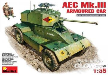 AEC Mk 3 Armoured Car · MA 35159 ·  Mini Art · 1:35