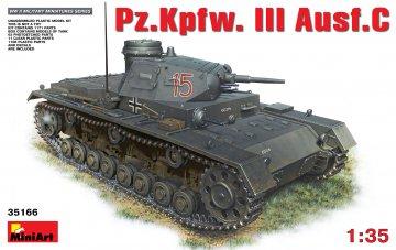 Pz.Kpfw.3 Ausf.C · MA 35166 ·  Mini Art · 1:35
