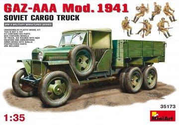 GAZ-AAA Cargo Truck Mod. 1941 · MA 35173 ·  Mini Art · 1:35