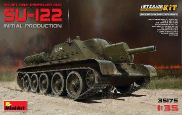 SU-122 (Initial Production) with Full Interior · MA 35175 ·  Mini Art · 1:35