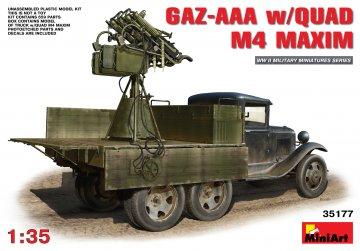 GAZ-AAA s/Quad M-4 Maxim · MA 35177 ·  Mini Art · 1:35