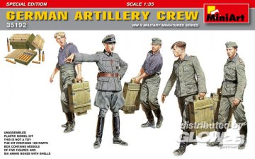 German Artillery Crew Special Edition · MA 35192 ·  Mini Art · 1:35