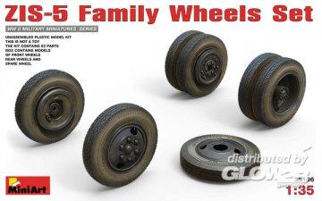 ZIS-5 Family Wheels Set · MA 35196 ·  Mini Art · 1:35