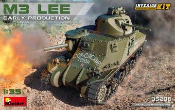 M3 Lee Early Production - Interior Kit · MA 35206 ·  Mini Art · 1:35
