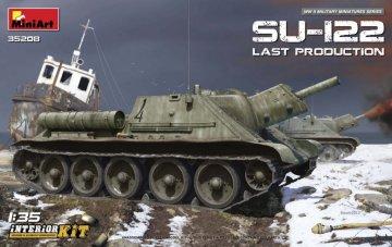 SU-122 (Last Production) Interior Kit · MA 35208 ·  Mini Art · 1:35