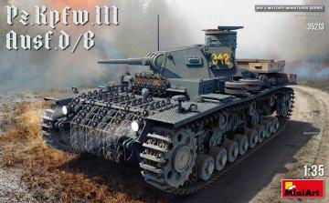 Pz.Kpfw.III Ausf. D/B · MA 35213 ·  Mini Art · 1:35