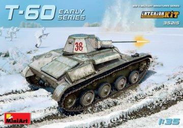 T-60 Early Series (Gorky Automobile Plant Interior Kit) · MA 35215 ·  Mini Art · 1:35