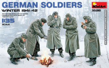 German Soldiers (Winter 1941-42) · MA 35218 ·  Mini Art · 1:35