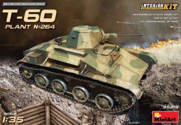 T-60 (Plant No.264,Stalingrad) - InteriorKit · MA 35219 ·  Mini Art · 1:35