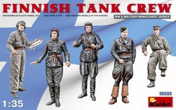 Finnish Tank Crew · MA 35222 ·  Mini Art · 1:35
