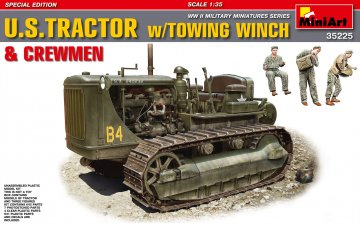 U.S.Tractor with Towing Winch & Crewmen - Special Edition · MA 35225 ·  Mini Art · 1:35