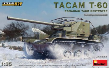 Tacam T-60 Romanian Tank Destroyer (Interior Kit) · MA 35230 ·  Mini Art · 1:35
