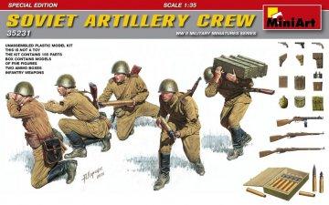 Soviet Artillery Crew - Special Edition · MA 35231 ·  Mini Art · 1:35