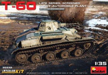 T-60 Late Series, Screened (Gorky Automobile Plant) Interior Kit · MA 35232 ·  Mini Art · 1:35