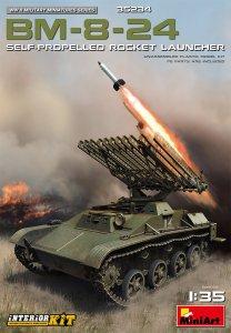 BM-8-24 Self-Propelled Rocket Launcher - Interior Kit · MA 35234 ·  Mini Art · 1:35