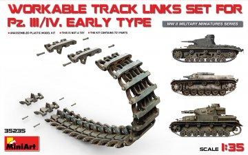 Pz.Kpfw III/IV Workable Track Links Set Early Type · MA 35235 ·  Mini Art · 1:35