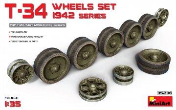 T-34 Wheels Set.1942 Series · MA 35236 ·  Mini Art · 1:35