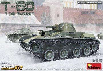 T-60 (T-30 Turret) Interior Kit · MA 35241 ·  Mini Art · 1:35