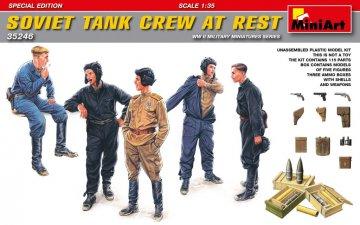 Soviet Tank Crew at Rest - Special Edition · MA 35246 ·  Mini Art · 1:35