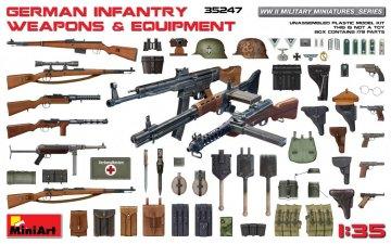 German Infantry Weapons & Equipment · MA 35247 ·  Mini Art · 1:35