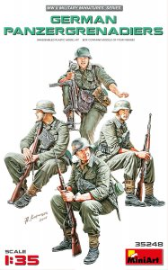 German Panzergrenadiers · MA 35248 ·  Mini Art · 1:35