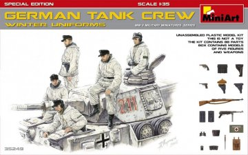 German Tank Crew (Winter Uniforms) - Special Edition · MA 35249 ·  Mini Art · 1:35