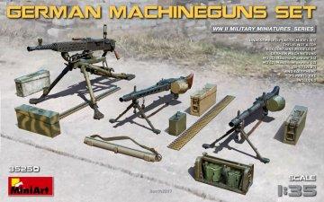 German Machineguns Set · MA 35250 ·  Mini Art · 1:35