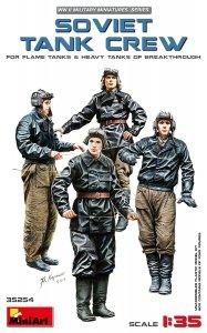 Soviet Tank Crew (for Flame Tanks& Heavy Tanks of Breakthrough) · MA 35254 ·  Mini Art · 1:35