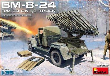 BM-8-24 Based on 1,5t Truck · MA 35259 ·  Mini Art · 1:35