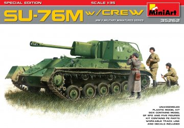 SU-76M w/Crew Special Edition · MA 35262 ·  Mini Art · 1:35