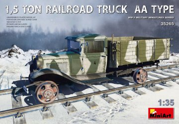 1,5 Ton Railroad Truck AA Type · MA 35265 ·  Mini Art · 1:35