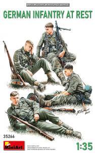 German Infantry at Rest · MA 35266 ·  Mini Art · 1:35
