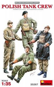 Polish Tank Crew · MA 35267 ·  Mini Art · 1:35