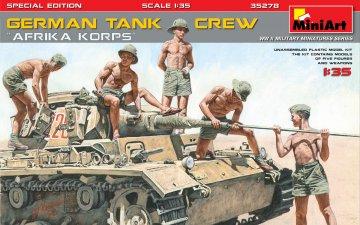 German Tank Crew Afrika Korps - Special Edition · MA 35278 ·  Mini Art · 1:35