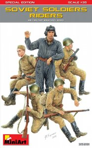 Soviet Soldiers Riders.Special Edition · MA 35281 ·  Mini Art · 1:35